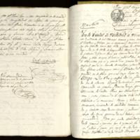 Carta de poder de José Zorrilla, vecino de Madrid, a Tomás Manrique, escribano y vecino de Torquemada (Palencia),  dada ante Nicolás Segoviano, notario de Valladolid