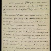 Carta de José Zorrilla a Felipe Cibrán
