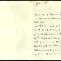 Expediente promovido por el Ayuntamiento de Valladolid instando al Gobierno a participar en los actos del primer centenario del nacimiento de Zorrilla
