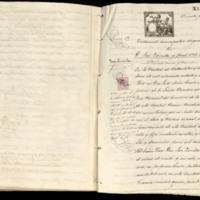 Testamento de José Zorrilla y Moral, vecino de Barcelona, otorgado ante Justo Melón Sánchez, notario de Valladolid