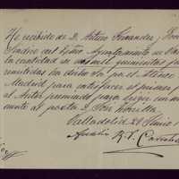 Nota de Aurelio Carretero
