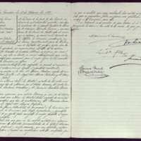 Acta de la comisión de 18 de marzo de 1896